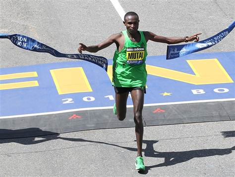 2011 boston marathon course. Boston Marathon 2011: Winners